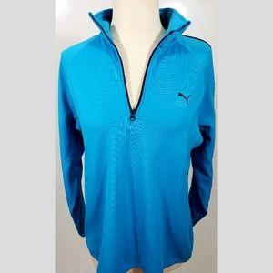 Puma Sport Blue lifestyle Jacket sz L